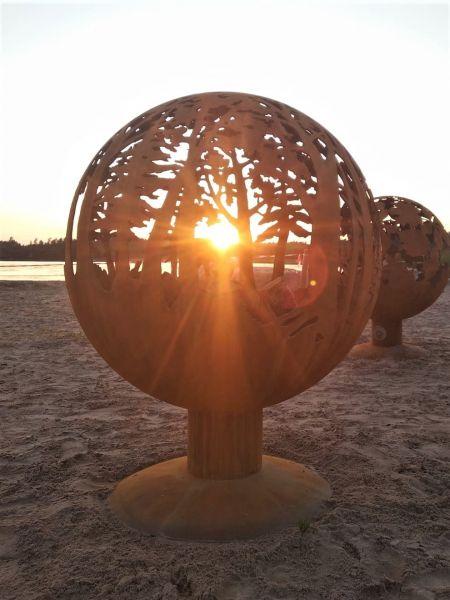 Iedvesmai | Dārza kamīns, Ugunskura vieta, Āra kamīns, Terases kamīns